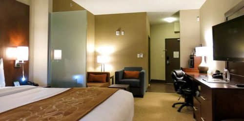 Comfort Suites Saskatoon Oversized King